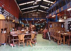 Romueble muebles rusticos y antiguedades empresa de for Muebles antiguos asturias