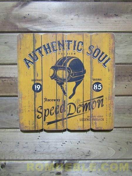 Cartel Retro Vintage 40x40 DM