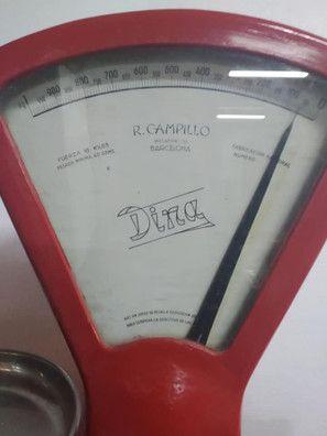 BASCULA - BALANZA  DINA- DE R. CAMPILLO- PORTE GRATIS A LA PENINSULA