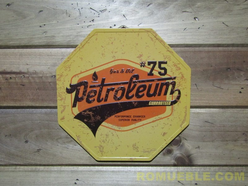 Cartel Retro Vintage Metal 32 cm