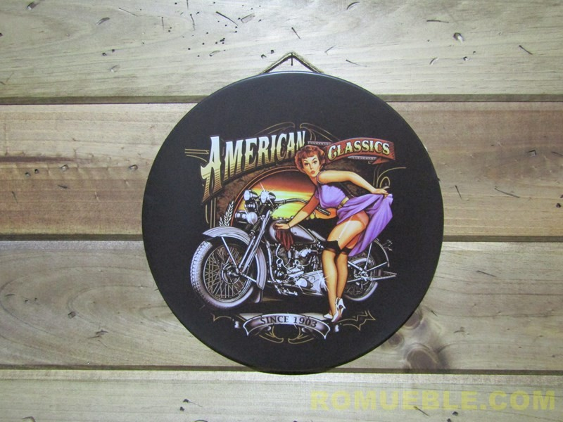 Cartel Retro Vintage Metal 30 cm