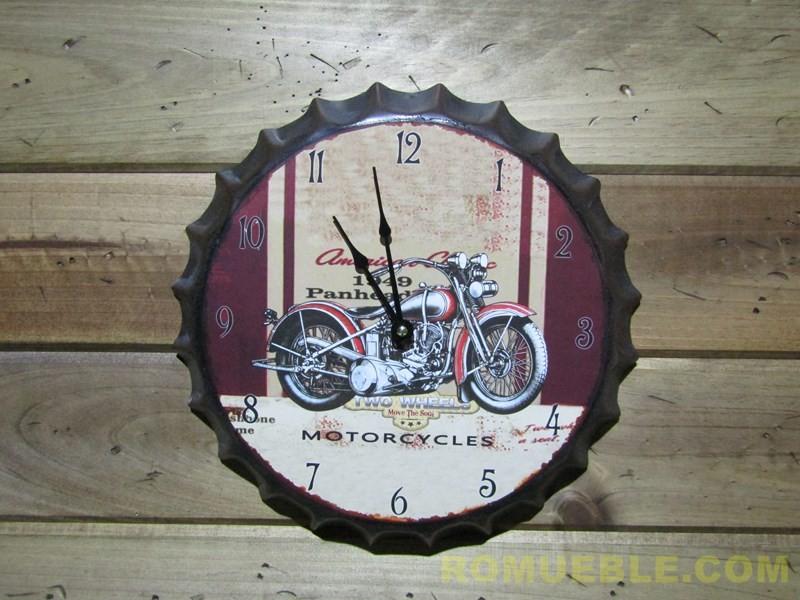 Reloj Retro Vintage Metal 35 cm