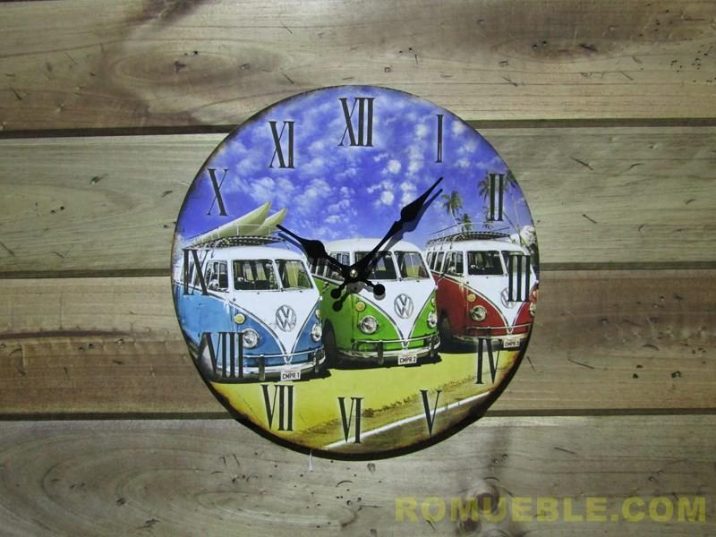 Reloj Retro Vintage Surf 34 cm