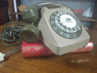 TELEFONO CON DOBLE AURICULAR - J-8/6199 - PORTE GRATIS A LA PENINSULA