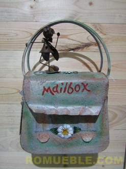 BUZON FORMA DE BOLSO MAIL-BOX