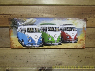Cartel Retro Vintage 50x20 Metal