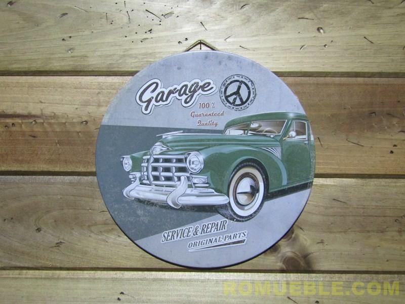 Cartel Retro Vintage Metal 30 cm