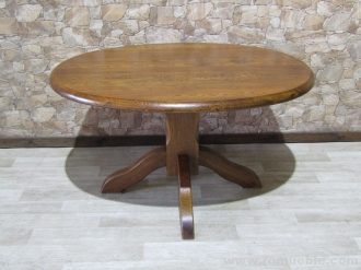 MESA OVAL DE ROBLE  H-5/42