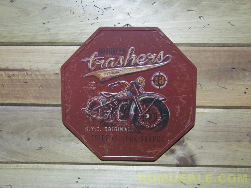 Cartel Retro Vintage Metal 32 cm