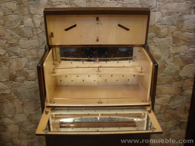 MUEBLE BAR RUSTICO VINTAGE  FR-19/11 - PORTE GRATIS