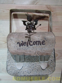 BUZON  FORMA DE BOLSO WELCOME