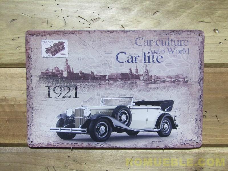 Cartel Metal Retro Vintage 20x30