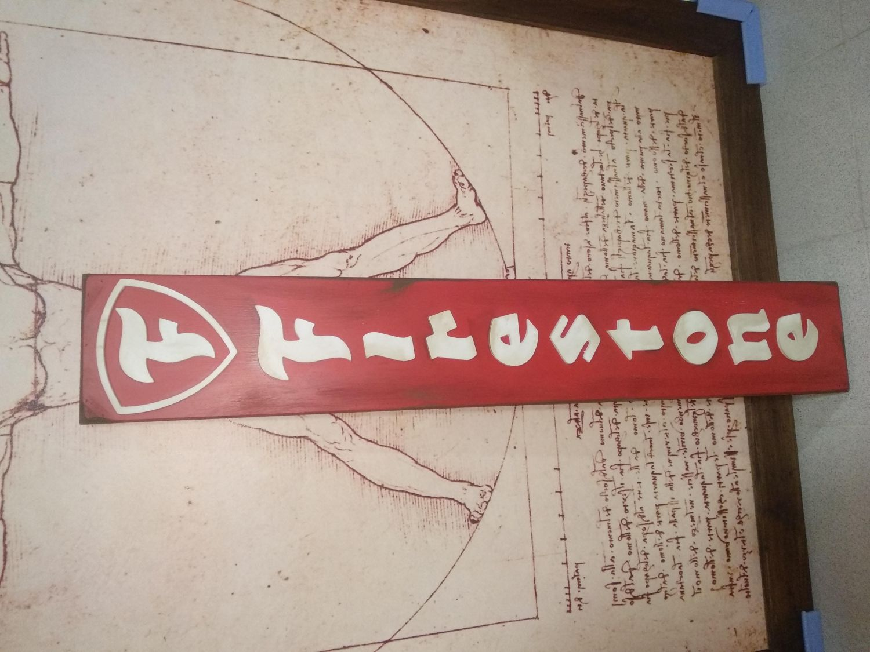 Cartel Firestone Retro Vintage