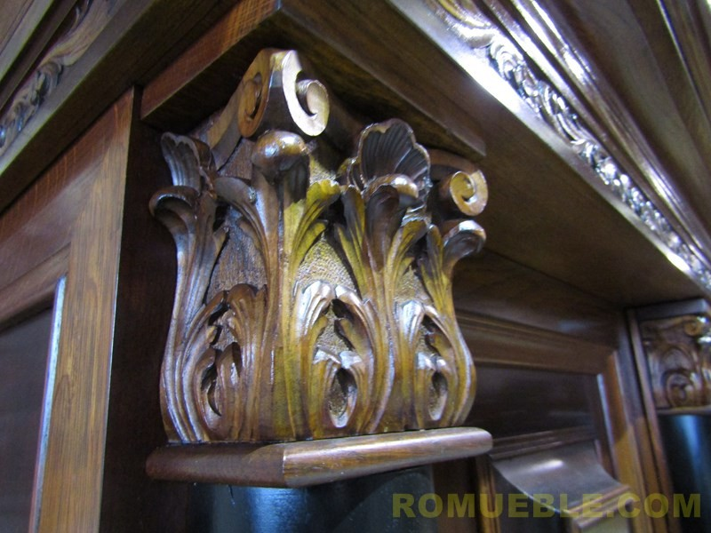 BUFFET ANTIGUO ROBLE Y CAOBA E-3/33