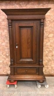 Dormitorios rusticos dormitorios antiguos dormitorios en - Armarios roperos antiguos ...