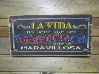 Cartel Retro Vintage 60x30 DM