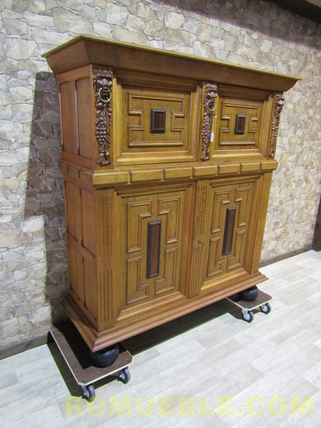 BUFFET ANTIGUO DE ROBLE  J-8/6689/ PORTE GRATIS A LA PENINSULA