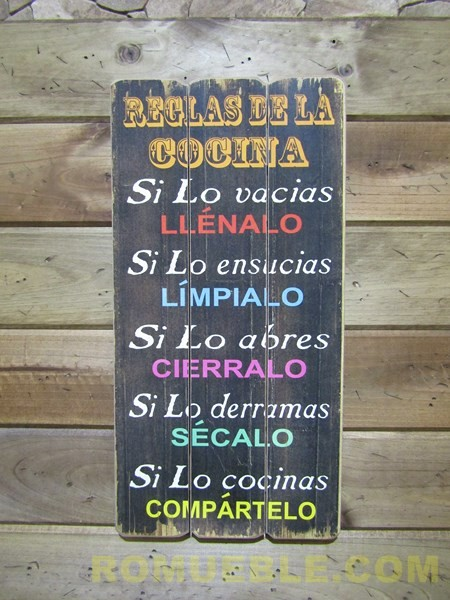 Cartel Retro Vintage 30x60 DM