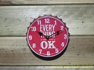 Reloj Retro Vintage Metal 20 cm