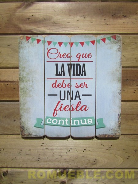 Cartel Retro Vintage 40x40 DM